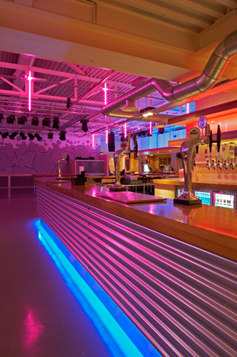 LRV nightclub Staffordshire University Stafford