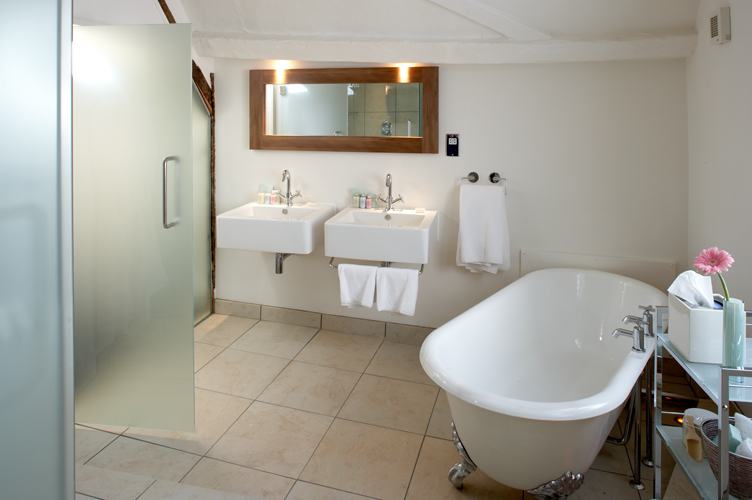 Fabulous Suite bathroom at Abode Hotel Exeter