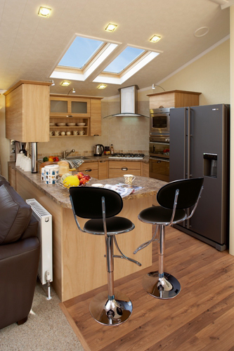 Willerby Holiday Homes - New England Series 2 Kitchen