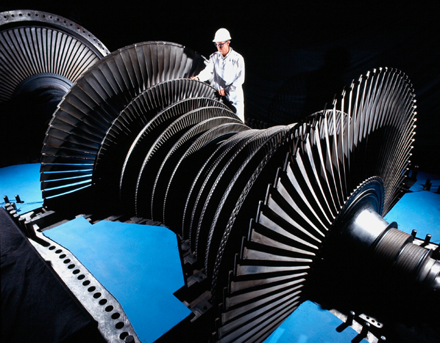 HP turbine spindle overhaul at Drax Power station by Seimens Power
