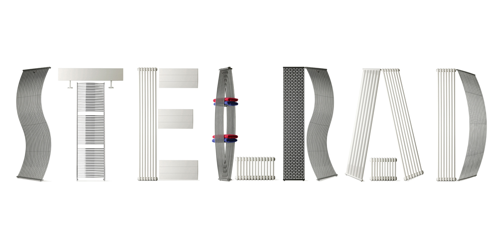 Stelrad name built out of Stelrad Radiators